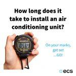 How Long Does It Take To Install An Air Conditioning Unit?