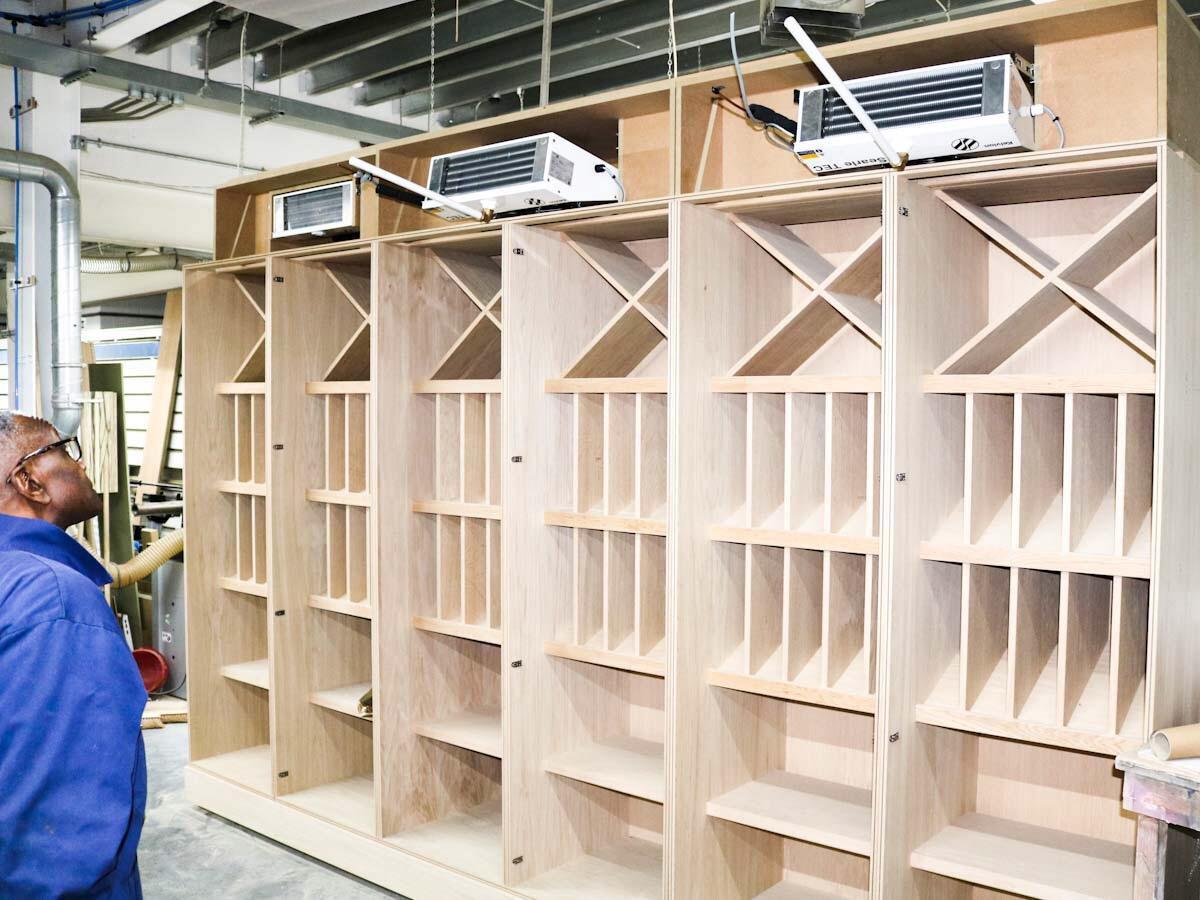 Bespoke Wine Cellar Cooling
